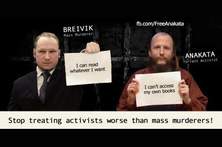 Stop treating activists worse than mass murderers