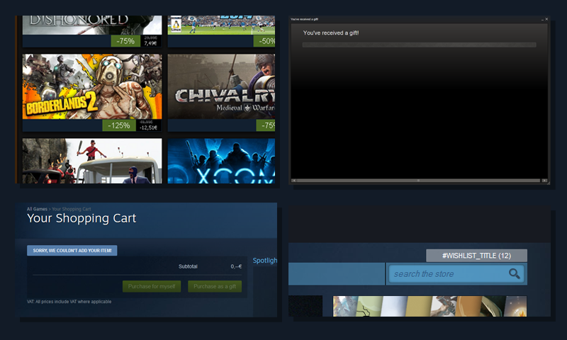 Is Steam starting to crack?