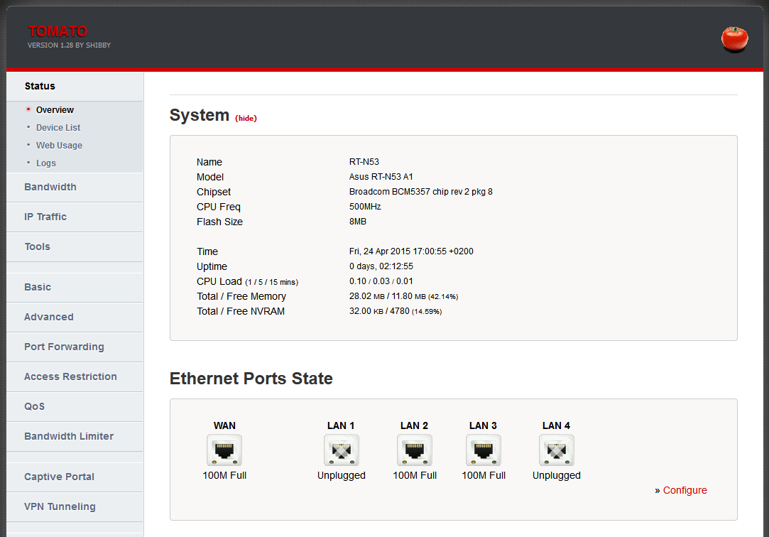 Setting up guest wireless access on Tomato · theZedt