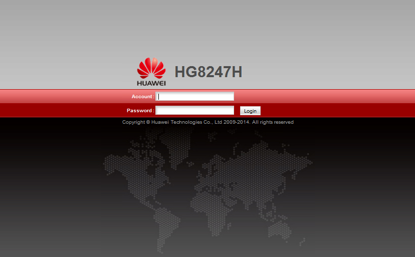 Obtaining administrator access on Huawei HG8247H · theZedt
