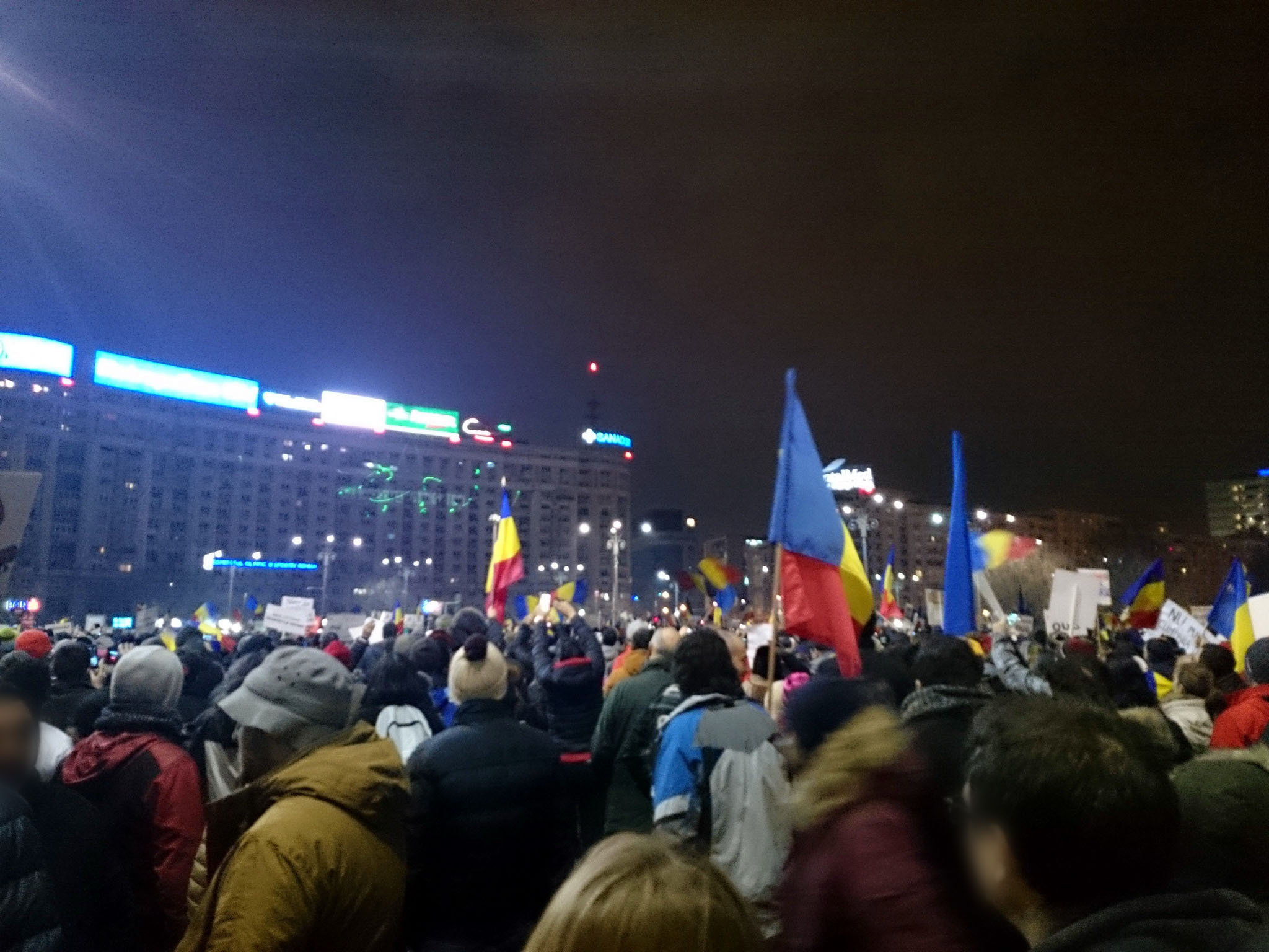 Anti government corruption protests – Bucharest, February 2017