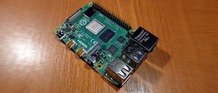 Raspberry PI 4 shininess