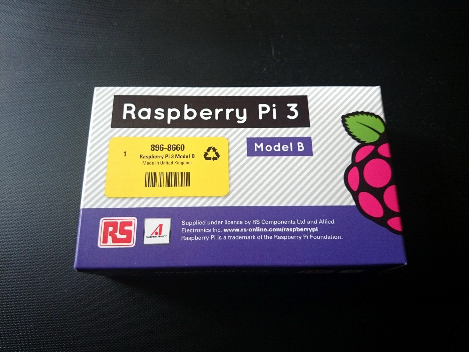 Raspberry PI 3 shininess