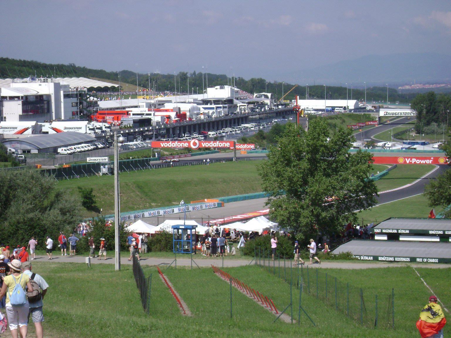 Travelling: Hungaroring Formula 1