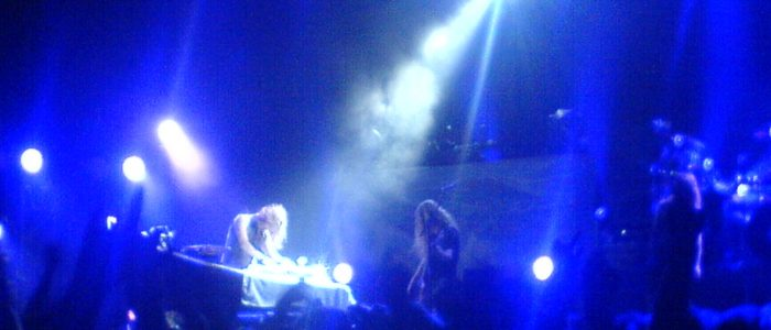 Nightwish live in Debrecen