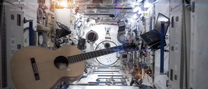 Song of the day: Space Oddity on board the International Space Station