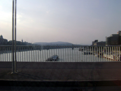 View on the Danube from Erzsebet hid
