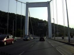 Erzsebet híd (Elisabeth Bridge)