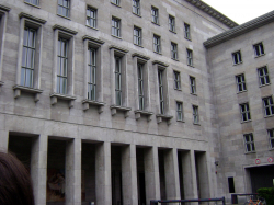 Reichsluftfahrtministerium (Air Ministry), currently Bundesministerium der Finanzen (Ministry of Finance)