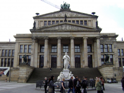 The Konzerthaus Berlin, Friedrich Schiller's statue in front