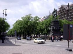 Unter den Linden, Regierungszeit Friedrichs des Großen