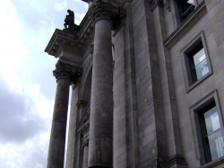 The Reichstag building (currently housing the Bundestag)