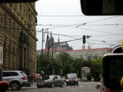 Prazsky hrad - Praha Castle (in the background)