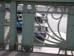 Boat on Vitava river
