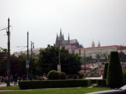 Prazsky hrad - Praha Castle (in the background)