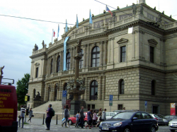 Rudolfinum - concert and exhibition hall