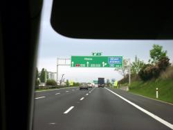 Approaching Praha