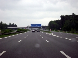 A113/A13/Berliner Ring junction